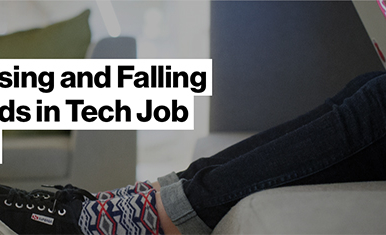 Top 10 Rising and Falling Buzzwords in Tech Job Postings